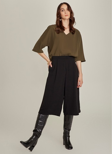 NGSTYLE Essentials - Culotte Pantolon Siyah